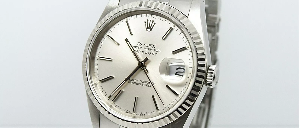 Rolex Datejust 16234 Box and Papers NOS