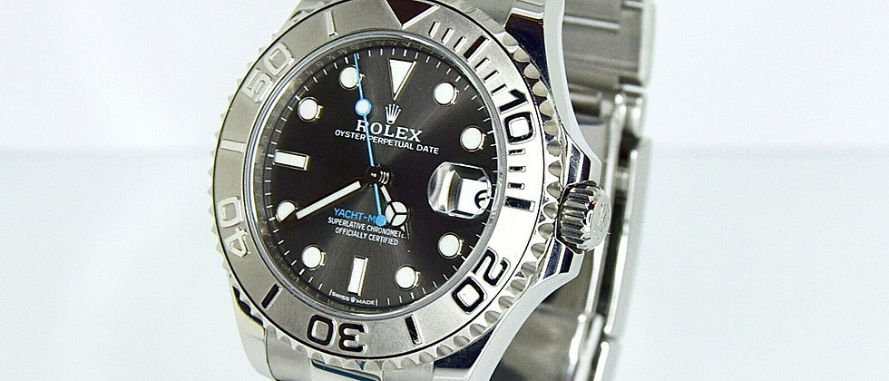 .Rolex Yacht Master 268622 Box and Papers August 2020 37mm Brand NEW/UNWORN