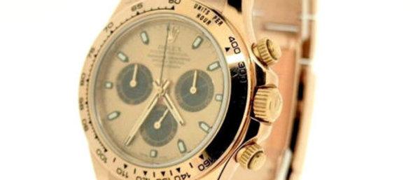 Rolex Daytona 116505 18K Rose Gold