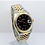 Thumbnail: Rolex Datejust 16233 Box and Papers Black Buckley Dial
