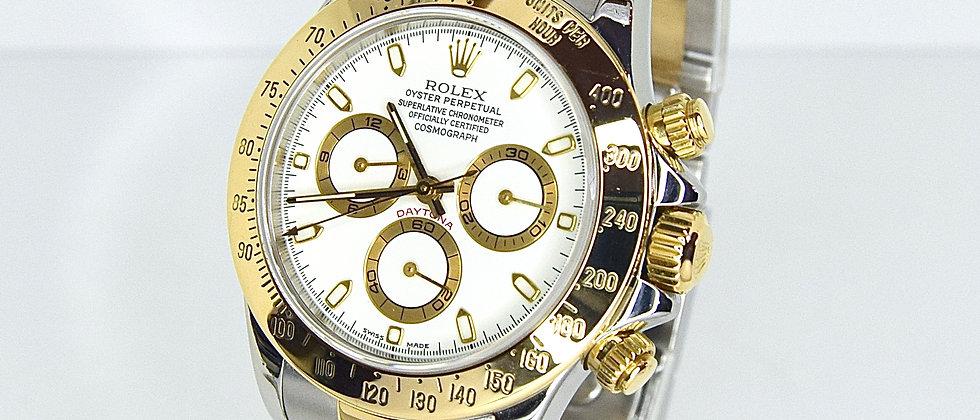 Rolex Daytona 116523 Box and Papers Rare Cream Dial