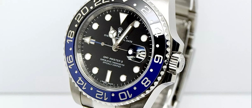 Rolex GMT Master II 116710BLNR Box and Papers 2015