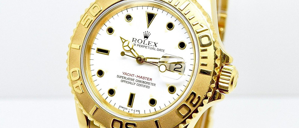 Rolex Yacht Master 16628 18K Yellow Gold