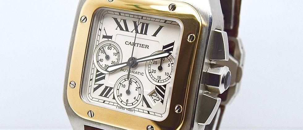 Cartier Santos 100XL Chronograph W20091X7