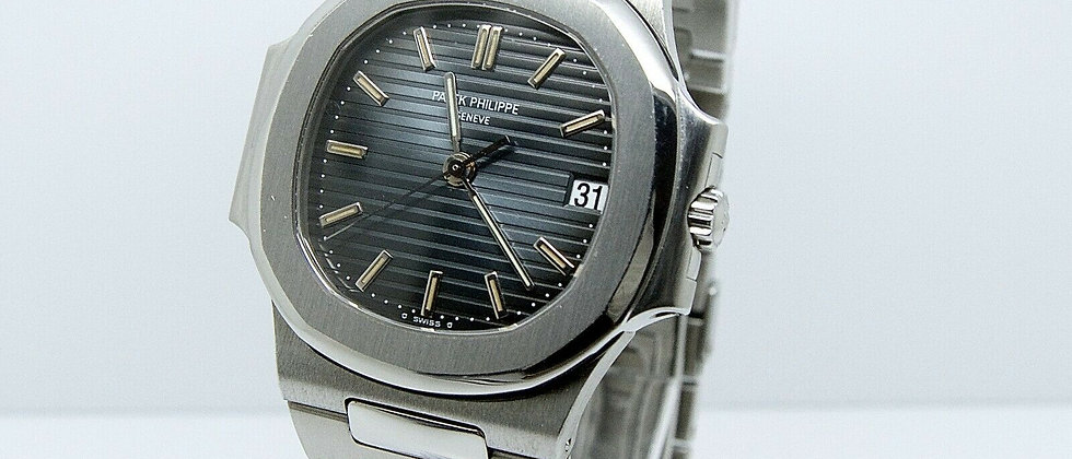 Patek Philippe Nautilus 3800 Box and Papers Full Set Blue Dial