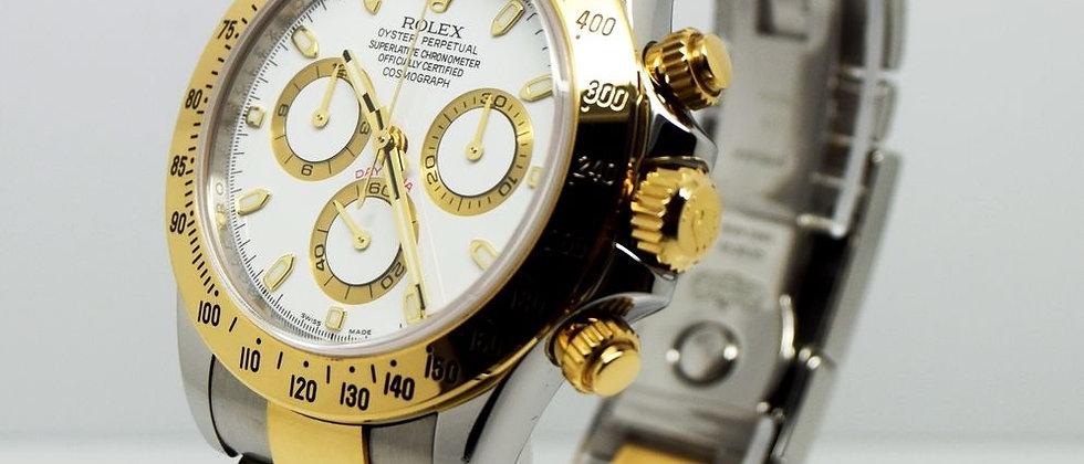 Rolex Daytona 116523 RRR in 18K Gold & Steel