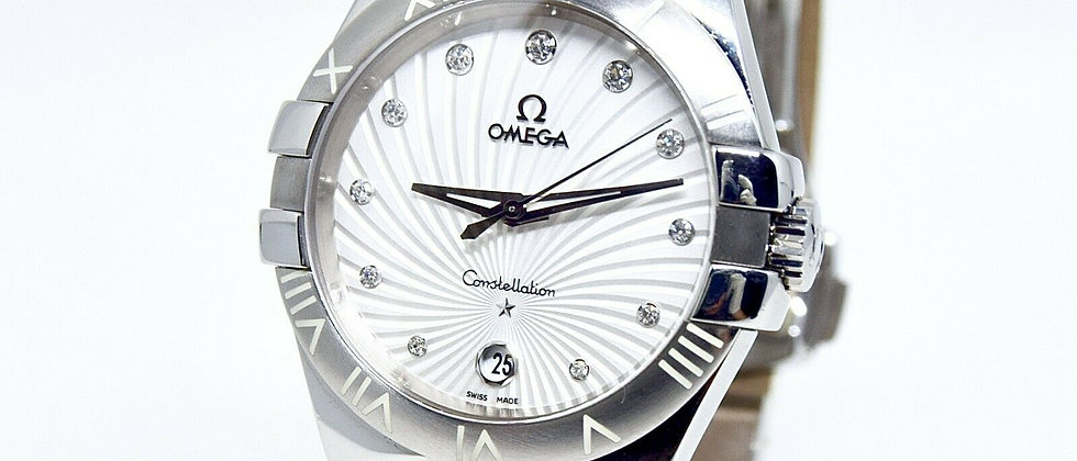 .Omega Constellation 123.13.35.60.52.001 Box and Papers Ladies Watch