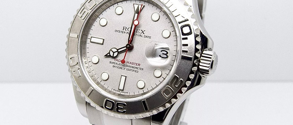 Rolex Yachtmaster Platinum 16622 Box and Papers 2008