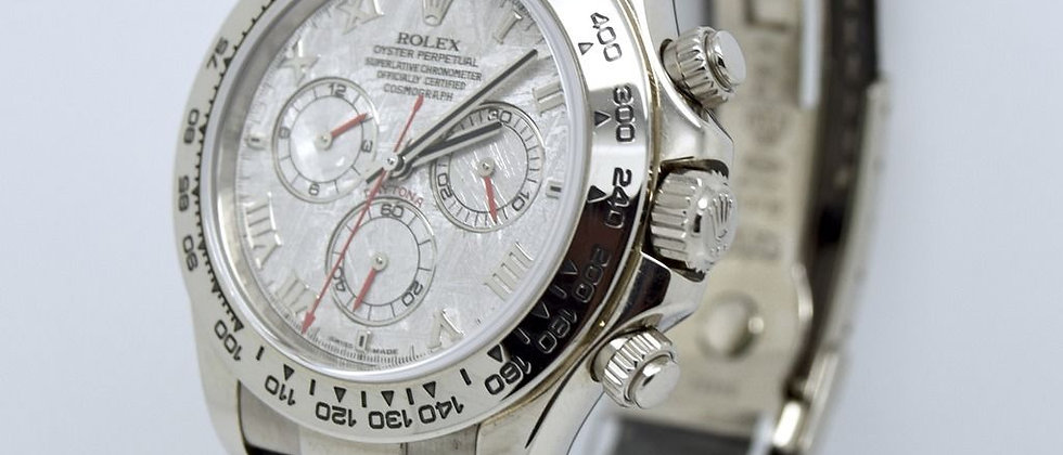 Rolex Daytona 116519 METEORITE DIAL