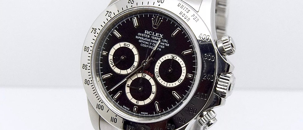 Rolex Zenith Daytona 16520 Box and Papers 1999 A serial