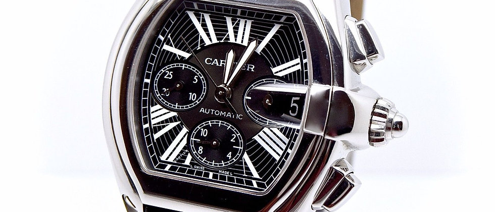 Cartier Roadster Chronograph XL Black 2011