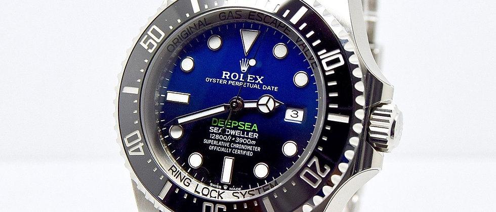 Rolex Sea-Dweller Deepsea D BLUE 126660 2018