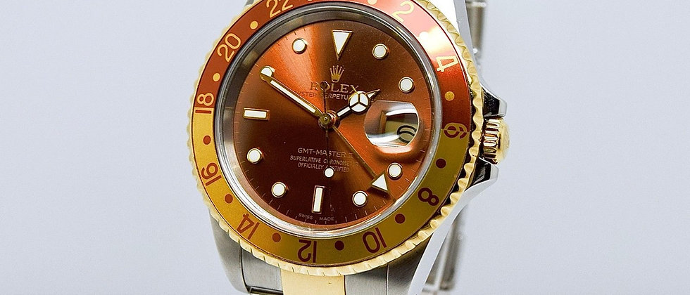 Rolex GMT Master II 16713 Tiger Eye Box