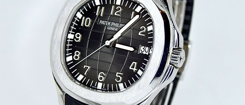 Patek Philippe Aquanaut 5167A-001 Box and papers 2015 Full Set