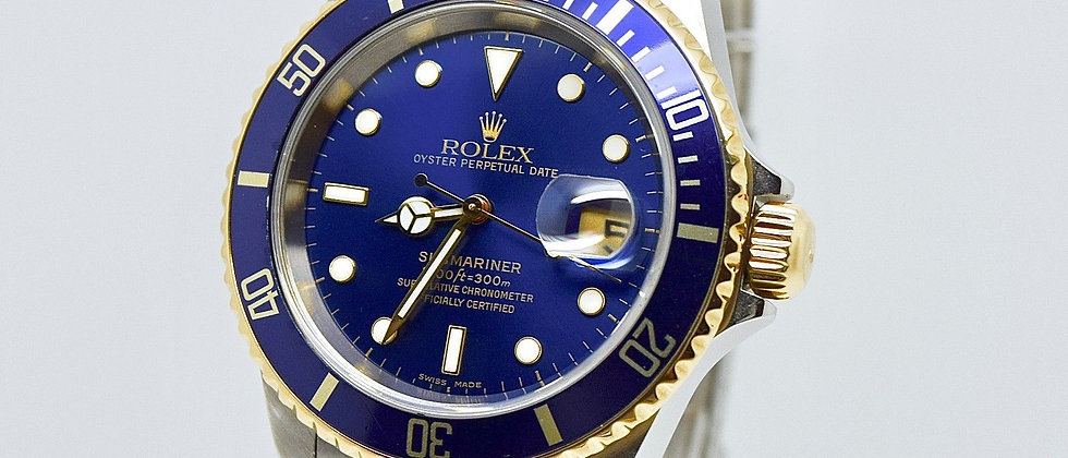 Rolex Submariner 16613 18K Gold 2003