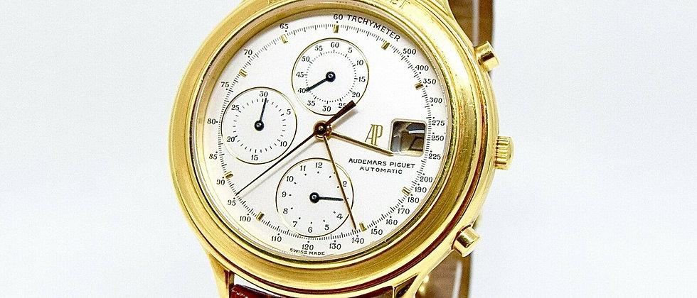 .Audemars Piguet Huitième Chronograph 18K Yellow Gold Ref. 25644