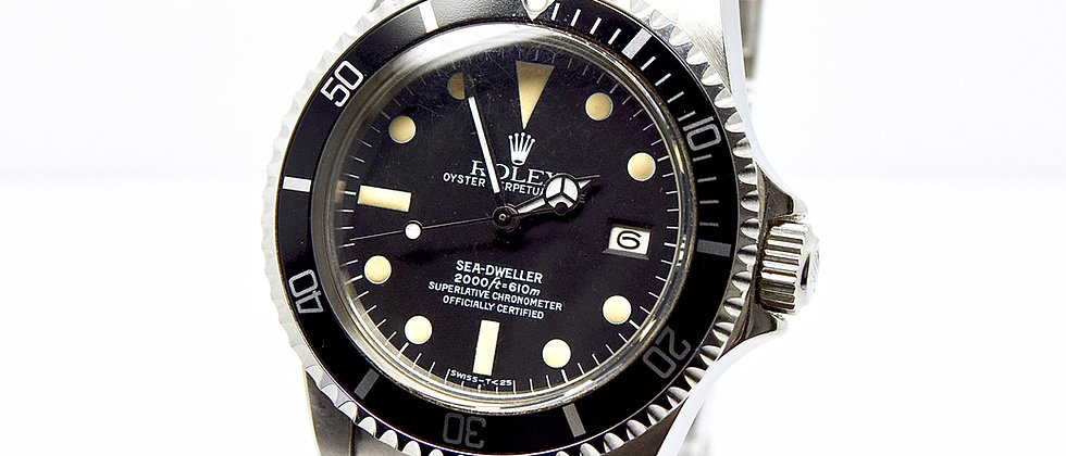 Rolex Sea-Dweller 1665 Great White Vintage
