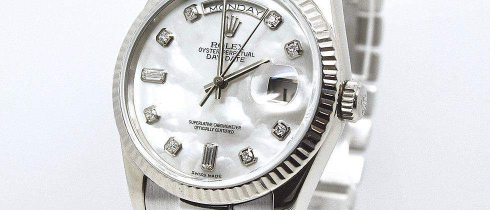 Rolex Day Date 118239 18K White Gold