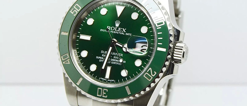 Rolex Submariner 116610lv Box and Papers 2012