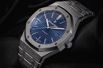 Introducing the new Audemars Piguet Royal Oak Frosted Gold