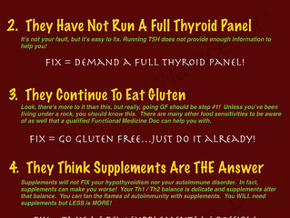 Are you making these common thyroid mistakes?