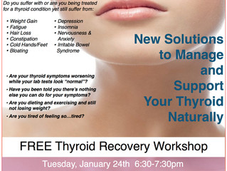 Natural Thyroid Recovery Seminar
