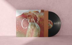 Cyn type title & album cover design