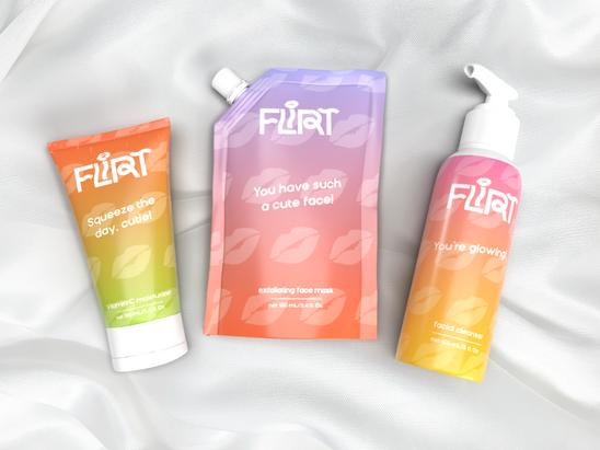 Flirt Branding & Package Design