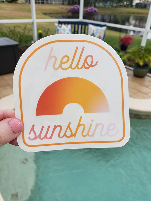 Hello Sunshine Rainbow Suncatcher