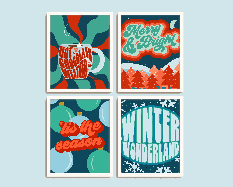Holiday Print Designs