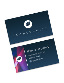 Techsthetic Business Cards