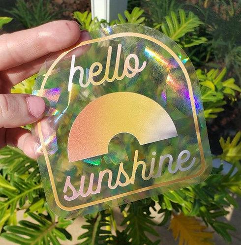 Hello Sunshine Rainbow Suncatcher