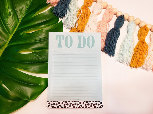 To Do List Notepad (5x7)