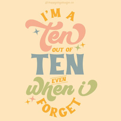 Ten out of Ten