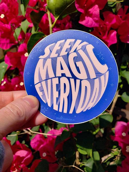 Seek Magic Everyday Sticker