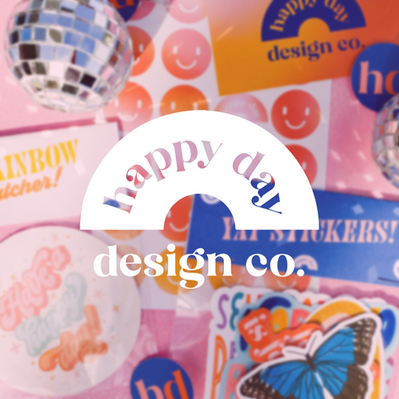 Happy Day Design Co. branding