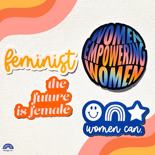 Feminist Stickers Bundle