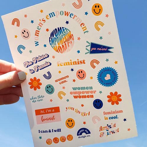 Women's Empowerment Sticker Sheet