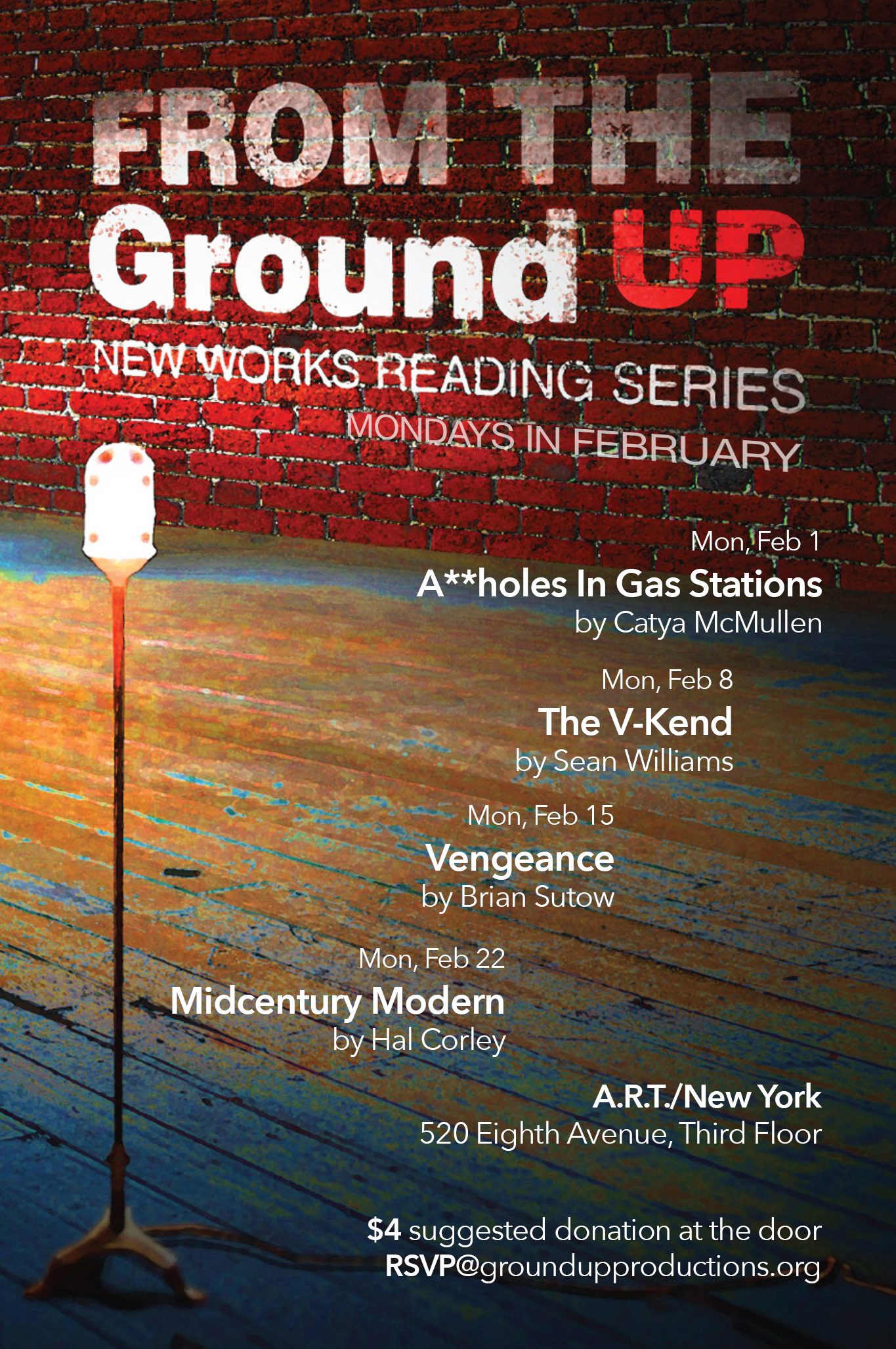 New Works Reading Series
