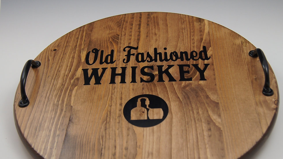 Old Fashioned Whiskey Board- [In- Stock Wood Boards]