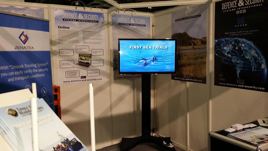 Seastick during Ocean Business 2015