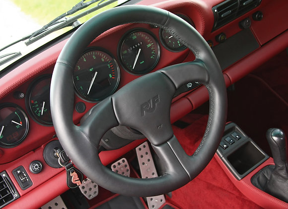 RUF Black Leather Steering Wheel (964 non-airbag)