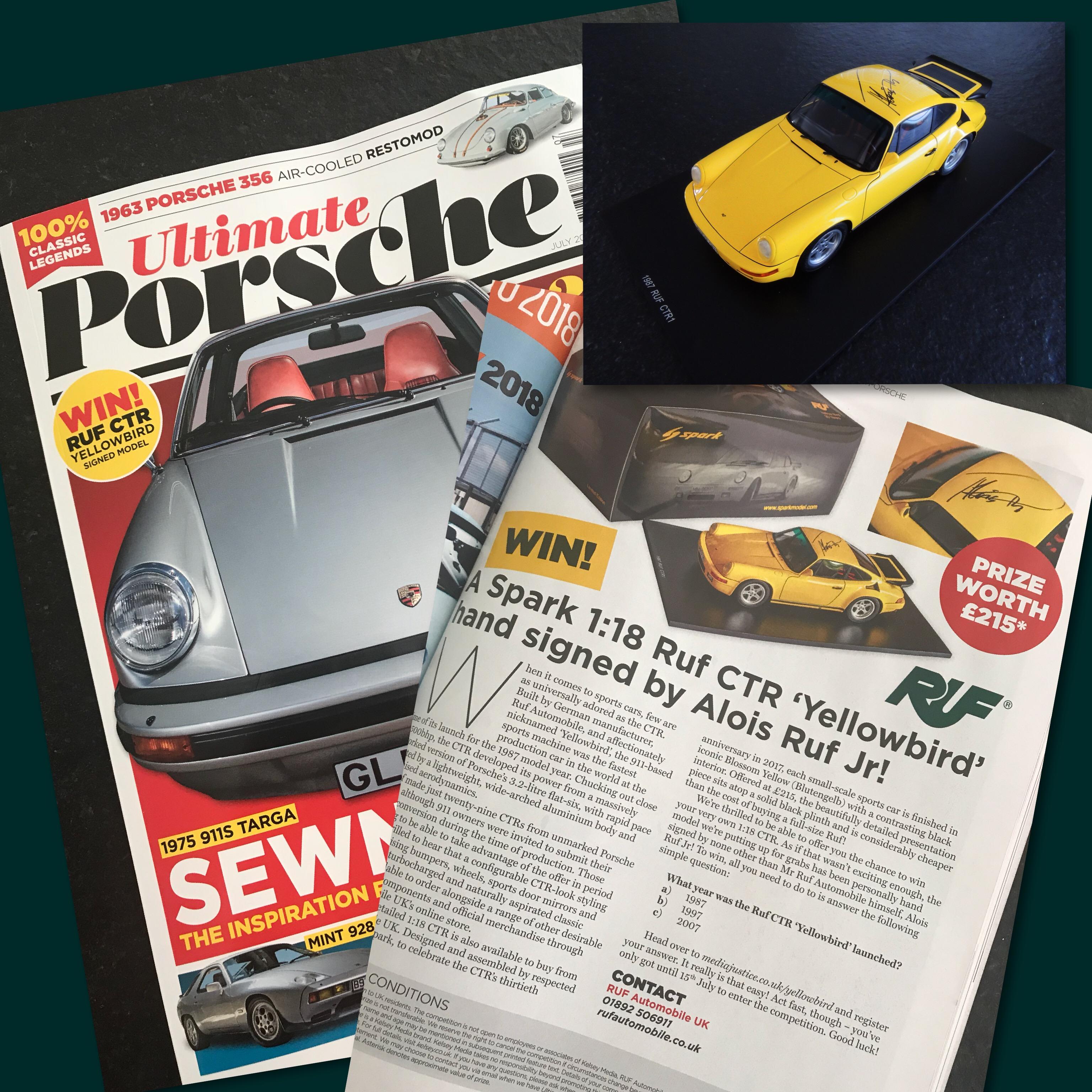 Ultimate Porsche Magazine July 2018