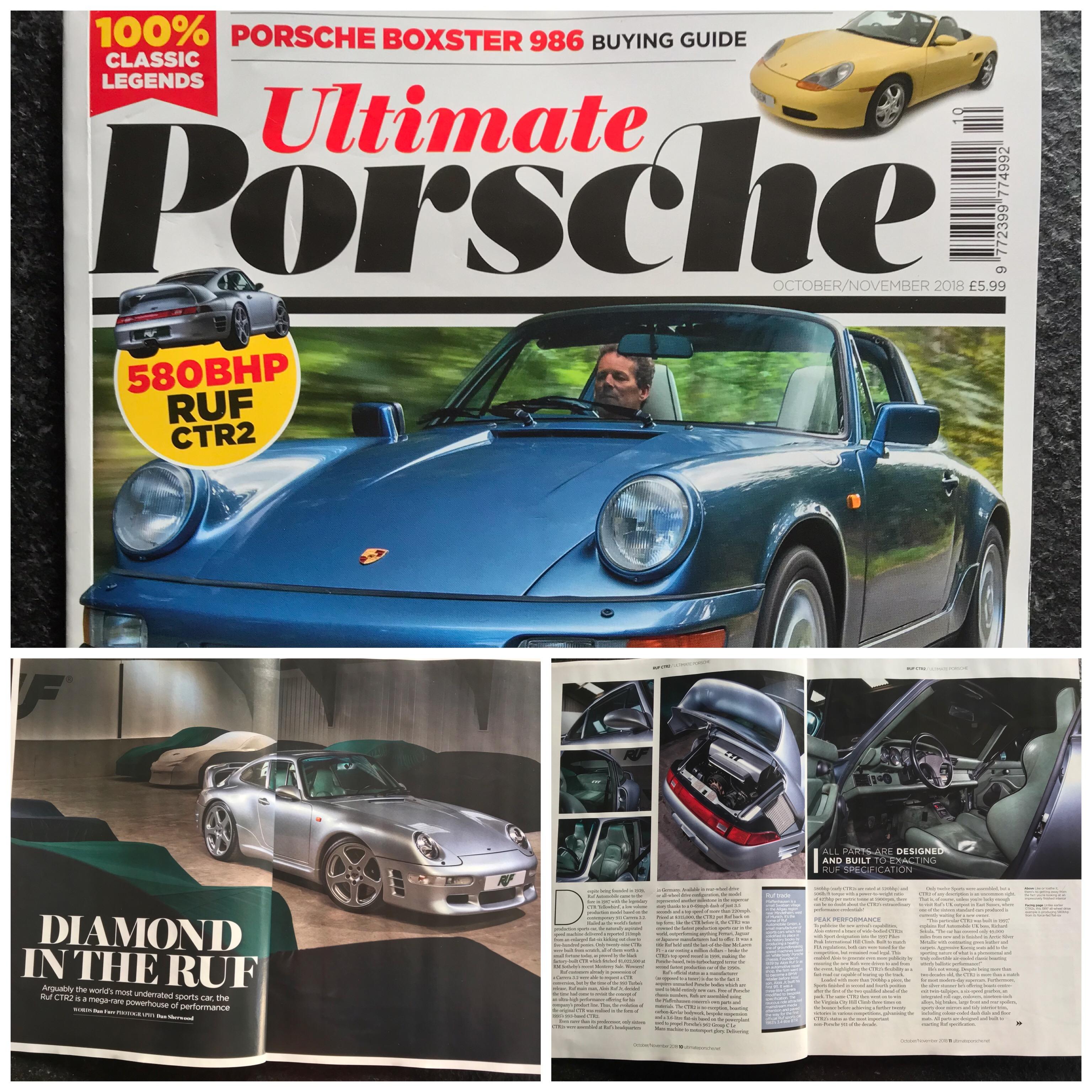 Ultimate Porsche - October 2018