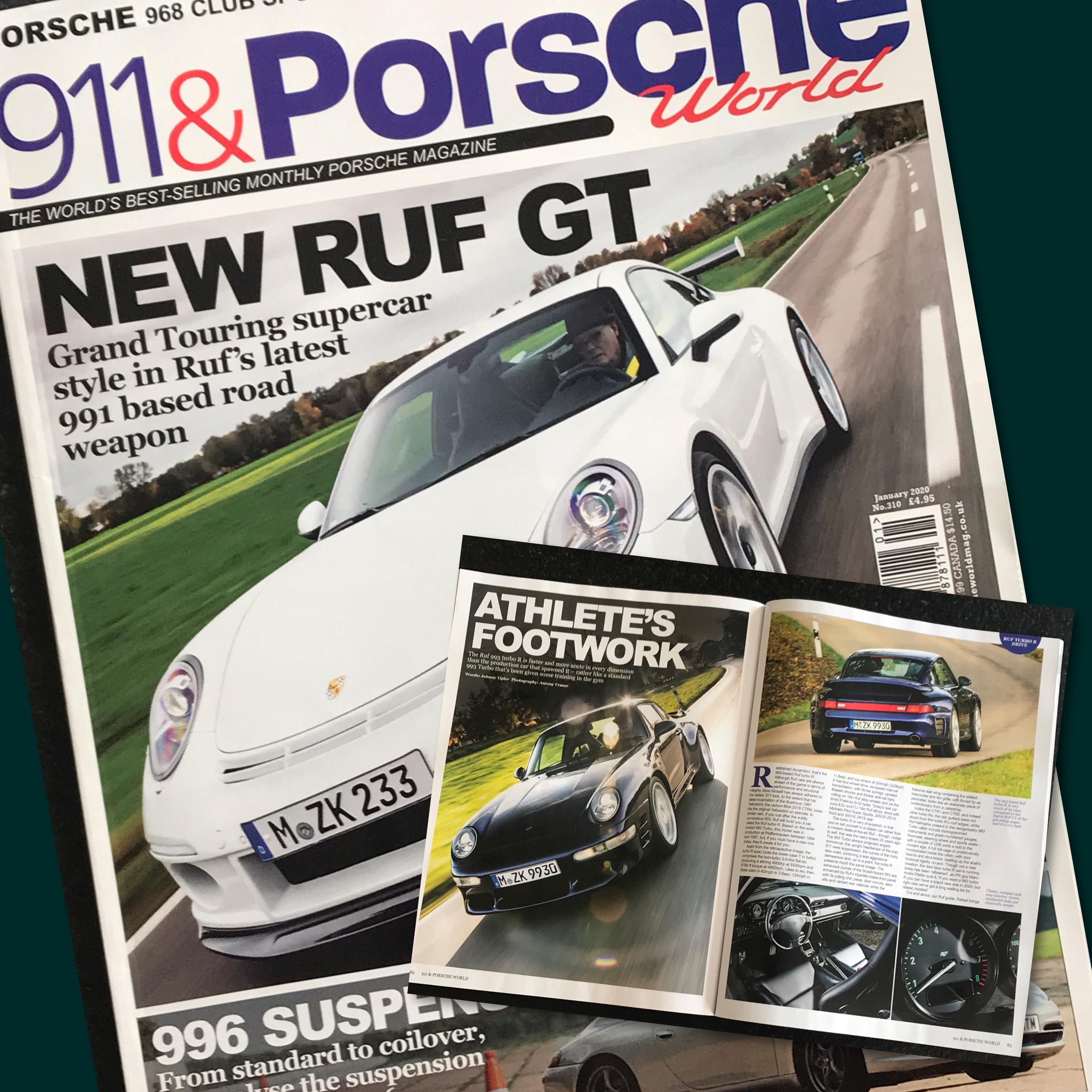 911 & Porsche World - Jan 2020