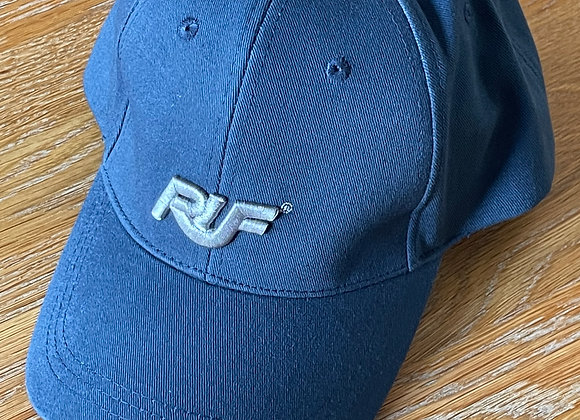 Blue RUF Cap with Silver Grey Logo