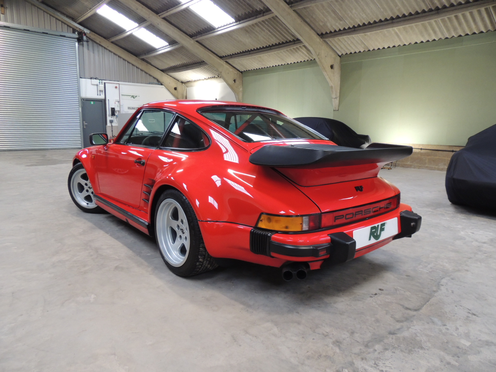 RUF Automobile UK | RUF Porsche 930 Flatnose BTR