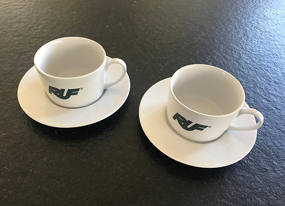 RUF Cappuccino Coffee Cup and Saucer Set