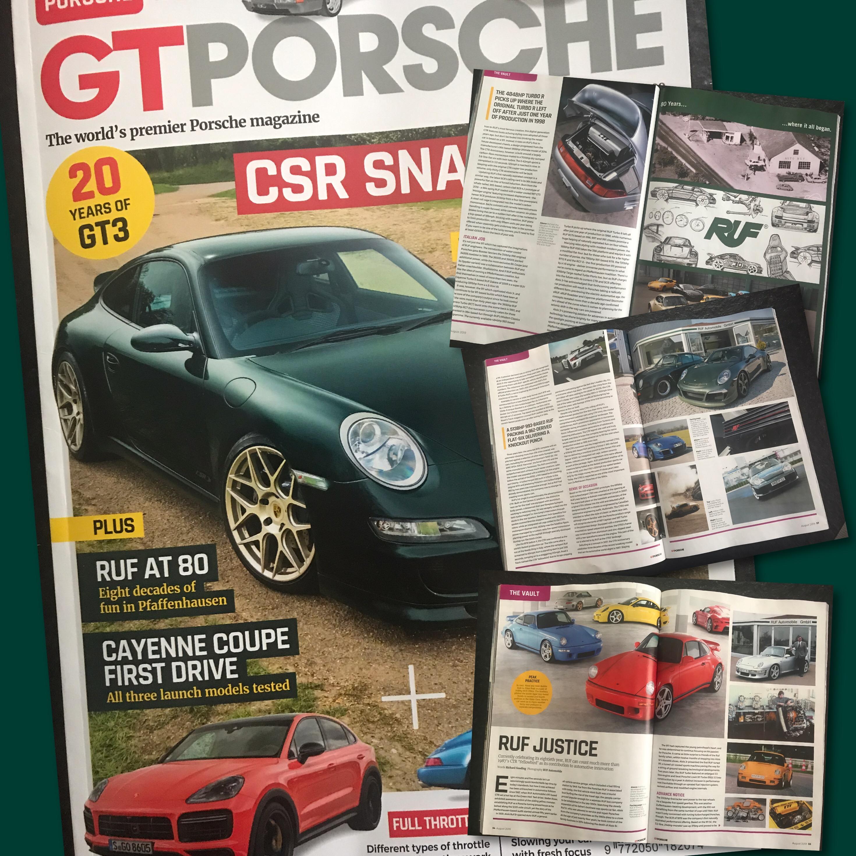 GT Porsche Magazine - July 2019