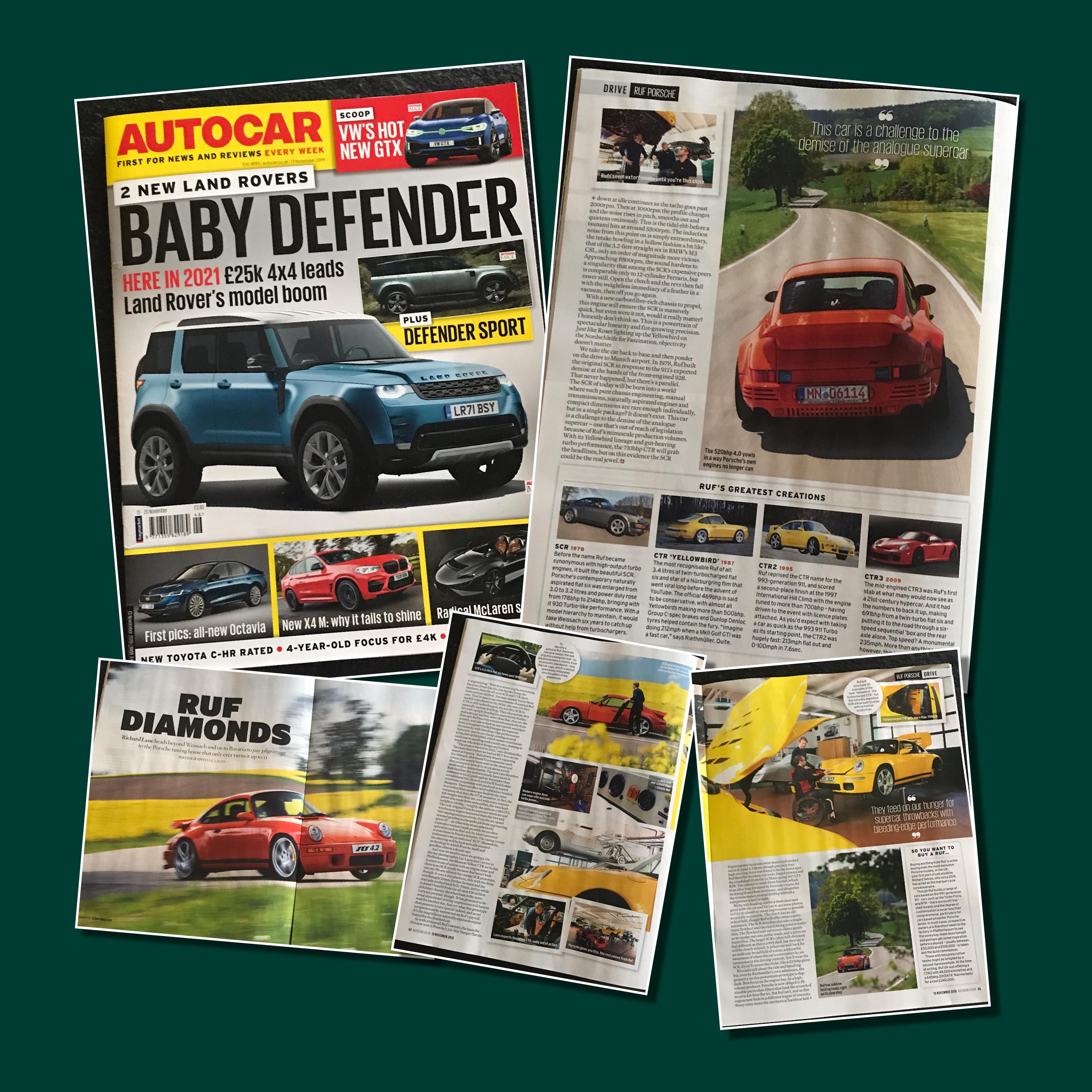 Autocar Magazine - November 2019